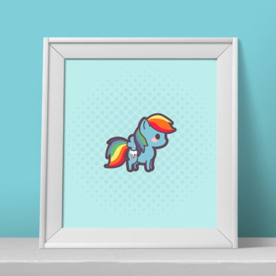 rainbow-dash-print